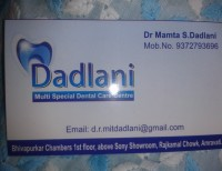 Logo of Dadlani Multispeciality Dental Care Center