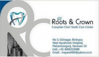 Logo of Roots & Crown, Complete Oral Health Care Center