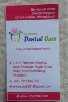 Logo for Member of IndiaDentalClinic.com - Dr. Komal's Dental Care