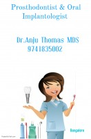 Dental Treatment image of Dr. Anju Thomas Prosthodontist And Oral Implantologist