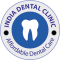 India Dental Clinic logo for affordable dental care